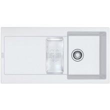FRANKE MARIS MRG 651 dřez 970x500mm, fragranit, bílá-led