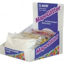 MAPEI MAPEGLITTER třpitky 100g, pro Kerapoxy Design, stříbrná