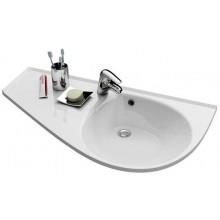 RAVAK AVOCADO COMFORT speciální umyvadlo nábytkové 950x530x190mm z litého mramoru, levé s otvorem, bílá