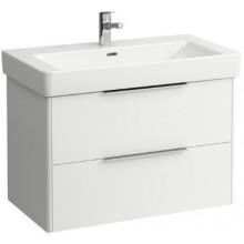LAUFEN BASE skříňka pod umyvadlo 809x438x515mm, 2 zásuvky, bílá lesk