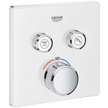 GROHE GROHTHERM SMARTCONTROL sprchová baterie 158mm, podomítková, termostatická, s 2 ventily, měsíční bílá