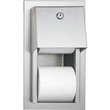 AZP BRNO 4003 zásobník toaletního papíru 160x90mm, vestavěný, nerez