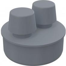 CONCEPT přivzdušňovací hlavice Ø110mm, polypropylen