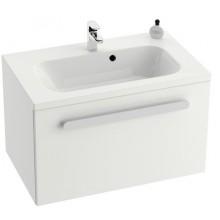 RAVAK CHROME SD 600 skříňka 600x490x470mm pod umývátko, s-onyx/bílá X000000531