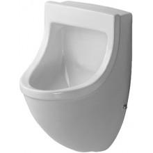 DURAVIT STARCK 3 urinal 330x350mm s přítokem zezadu, bílá 0821350007