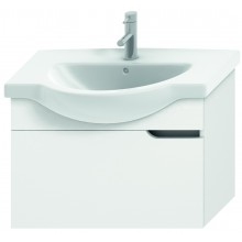 JIKA MIO umyvadlová skříňka pro nábytkové umyvadlo 710x340mm 1 zásuvka, bílá/bílá