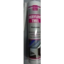 DEN BRAVEN SILVER LINE akrylový tmel 310ml, jednosložkový, bílá