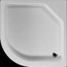 Čtvrtkruhová sprchová vanička TAURUS se vyrábí v provedení s hladkým povrchem.Sprchovou vaničku TAURUS je možné doplnit kovovými samonosnými nohami, nebo plastovými nožičkami (nejsou samonosné - nutná podezdívka).