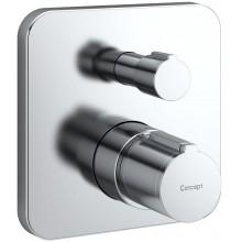 CONCEPT 200 NEW sprchová baterie podomítková termostatická nadomítková část chrom A5914AA
