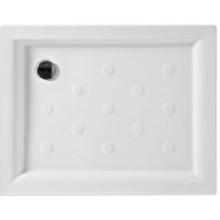 JIKA NEO-RAVENNA keramická sprchová vanička 900x720x80mm obdélníková, bílá