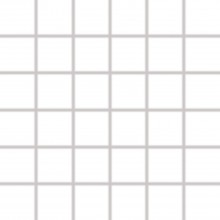 RAKO COLOR TWO mozaika 30x30cm, lepená na síťce, bílá