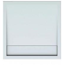 Vanička plastová Teiko čtverec - 90x90x3,5cm bílá