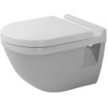WC závěsné Duravit odpad vodorovný Starck 3 POZOR nestandartní rozestup 230mm 36x54 cm bílé