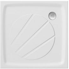 Vanička litý mramor Ravak čtverec PERSEUS PRO 80 80x80x30 bílá