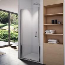 SANSWISS SWING-LINE SL1 sprchové dveře 1000x1950mm, jednokřídlé, aluchrom/čiré sklo Aquaperle