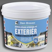 DEN BRAVEN EXTERIÉR hydroizolace 13kg, jednosložková, modrá