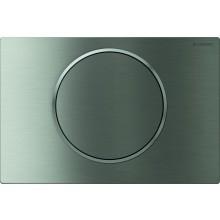 GEBERIT SIGMA 10 ovládací tlačítko 24,6x16,4cm, přišroubovatelné, nerez ocel kartáčovaná/leštěná 115.787.SN.5
