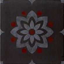 IMOLA HABITAT dekor 60x60cm black, MEMORIES 1 60N