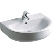 Umyvadlo klasické Ideal Standard s otvorem Connect Arc 60x46 cm bílá+Ideal Plus