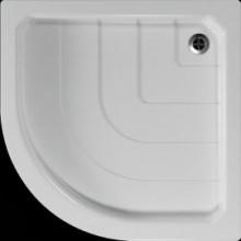 Vanička plastová Teiko čtvrtkruh - 80x80x7cm bílá