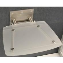 RAVAK OVO B sedátko 360x360x130mm do sprchového koutu, sklopné, clear B8F0000015