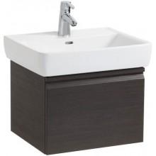 LAUFEN PRO skříňka pod umyvadlo 520x450x390mm, se zásuvkou a vnitřní zásuvkou, bílá lesk