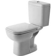 WC kombinované Duravit odpad svislý D-Code  bílá