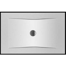 JIKA PURE ocelová sprchová vanička 1200x900mm obdélníková, bílá 2.1642.1.000.000.1
