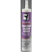 DEN BRAVEN EXPRES sanitární silikon 310ml, bílá