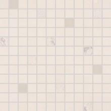 RAKO UP mozaika 30x30cm, lepená na síťce, světle béžová