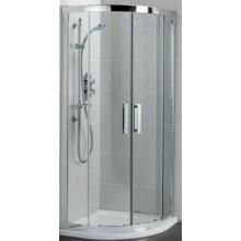IDEAL STANDARD SYNERGY sprchový kout 90x90cm čtvrtkruhový, silver bright/sklo L6383EO