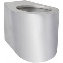 AZP BRNO BSNZ 02 INV klozet 358x483mm, pro tělesně postižené, na postavení, bezpečnostní, nerez ocel