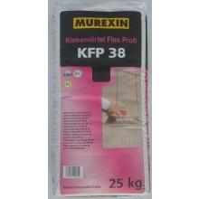 MUREXIN PROFIFLEX KPF 38 lepicí malta 25kg, flexibilní, vodovzdorná, mrazuvzdorná, šedá