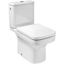 ROCA DAMA WC mísa kombi 660x400mm hluboké splachování, svislý odpad, bílá 7342788000