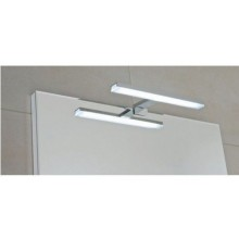 JIKA CLEAR GEMMA 490 osvětlení 494x112x14mm, nad zrcadlo, kov