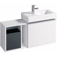 KERAMAG ICON XS postranní prvek 37x40x27,3cm, závěsný, bílá matná 841237000