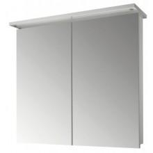 DŘEVOJAS SANI GA 80 2D zrcadlová skříňka 800x200x706mm, s LED osvětlením, N01 bílá lesk