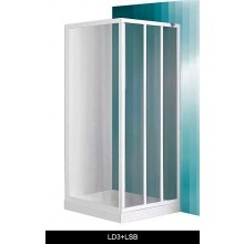 ROLTECHNIK SANIPRO LSB/900 boční stěna 900x1800mm, bílá/grape