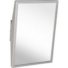 AZP BRNO NZR 4 INV zrcadlo 405x625mm, sklopné, pro tělesně postižené, nerez