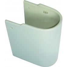 CONCEPT CUBE polosloup pro umývátko 400mm bílá alpin E784001