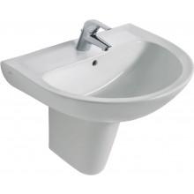 IDEAL STANDARD EUROVIT umyvadlo 550x445x215mm, s otvorem, bílá