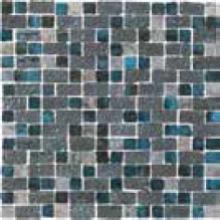 NAXOS RAKU mozaika 30,5x30,5cm, spaccatella turquoise