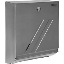 SANELA SLZN20 WC zásobník na papírové ručníky 340x110x265mm, nerez mat
