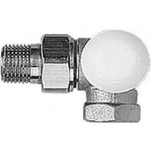 """HERZ TS-90 termostatický ventil 1/2"""" úhlový, pravý, bez přednastavení"""