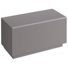 KERAMAG ICON skříňka 89x47,7cm, postranní, stojící, platinová lesklá 840092000