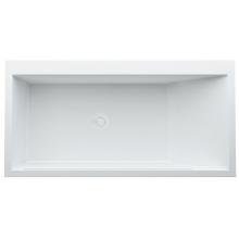Vana speciální Laufen do prostoru Kartell by Laufen vč. konstrukce 170x86x59 cm bílá