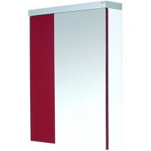 EDEN GRANÁT zrcadlová skříňka 59x80,2cm dvoukřídlá, levá, bílá/ořech