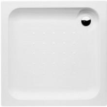 DEEP BY JIKA akrylátová sprchová vanička 800x800mm, čtvercová, samonosná, bílá