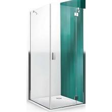 ROLTECHNIK HITECH LINE HBB/800 boční stěna 800x2000mm, bezrámová, brillant premium/transparent