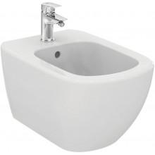 IDEAL STANDARD TESI závěsný bidet 360x530x300mm, 1 otvor, bílá